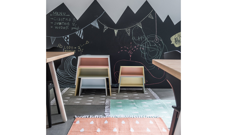 Table Tuli by VOX white/pink