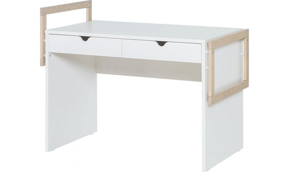 Desk 120 Stige by VOX white/pine